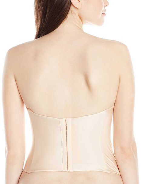 Felina Essentials Seamless Hidden Wire Bustier – Bare Back